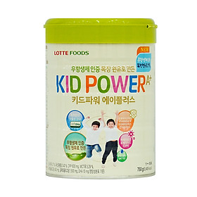Sữa Bột Kid Power A+ Hàn Quốc Cho Bé Cao Lơn Vượt Trội