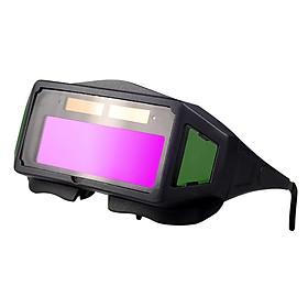 Solar Auto Darkening Welding Glasses Welding Safety Protective Glasses Welder Eye Protection Glasses Anti-Glare Anti-Fog