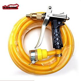 Vòi xịt nước rửa xe thông minh làm sạch mọi thứ bằng nước áp lực cao với nhiều chế độ 206236