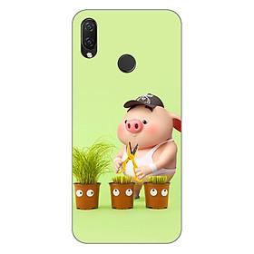 Ốp lưng dẻo cho điện thoại Huawei Nova 3i_Pig 21