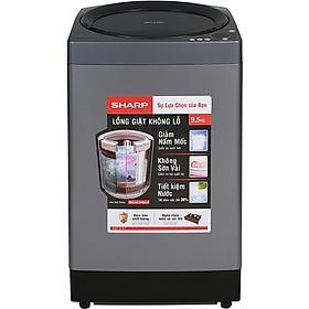 Máy Giặt Cửa Trên Sharp ES-W95HV-S (9.5kg) - Hàng Chính Hãng - Chỉ giao tại Hà Nội