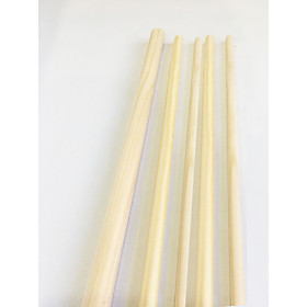 Combo 5 thanh gỗ tròn từ gỗ thông phi 2cm x Dài 1m2 phụ kiện macrame, handmade, decor