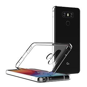 Ốp Dẻo Trong Suốt Dành Cho LG G6