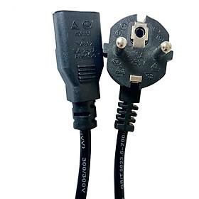 Hình đại diện sản phẩm 1.2M 10A 250V 3-Core Copper EU Plug Power Cable Lead Cord for Electric Cooker