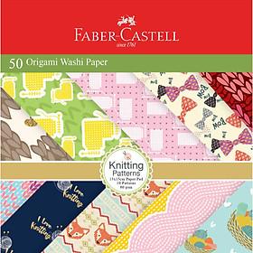 Giấy nghệ thuật origami washi nhật bản Faber 171515