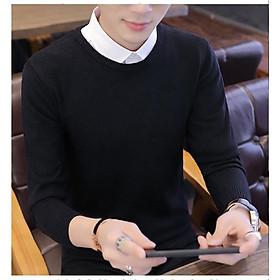 Áo len nam cổ tròn áo len nam dệt kim thời trang cá tính
