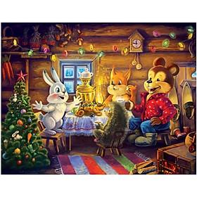 Xếp Hình 63 Mảnh - Giáng Sinh An Lành 63-135