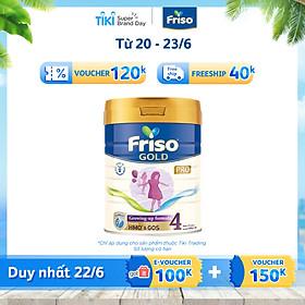 Sữa Bột Friso Gold Pro 4 Cho Trẻ Từ 2-4 Tuổi 800g