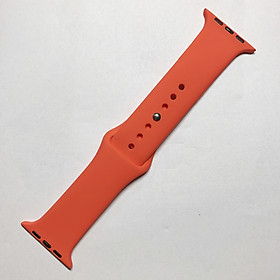 Dây đeo Silicon Color cho Apple Watch 1/2/3/4/5/6/SE Size 38mm / 40mm / 42mm / 44mm