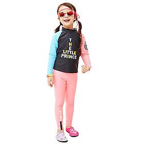Đồ bơi bé gái áo dài quần dài 3-11 tuổi Bg1903
