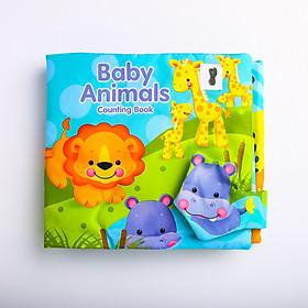 Sách vải Baby animal