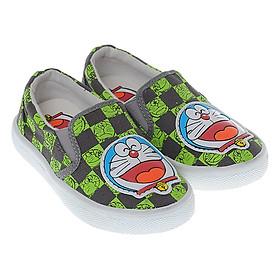 Giày Vải Doraemon Bé Trai Biti's DSB117822XAM - Xám Phối Xanh Lá