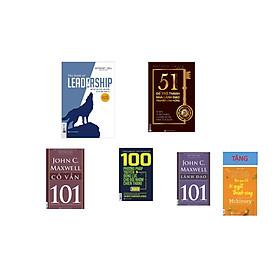 Bộ sách truyền cảm hứng cho các nhà lãnh đạo : 51 chìa khóa vàng để trở thành nhà lãnh đạo truyền cảm hứng+100 phương pháp truyền động lực cho đội nhóm chiến thắng+Dẫn dắt bản thân, đội nhóm và tổ chức vươn xa - The book of leadership+Leadership 101 - lãnh đạo 101+Mentoring 101 - cố vấn 101+ Tặng cuốn Nghệ thuật ghi chép