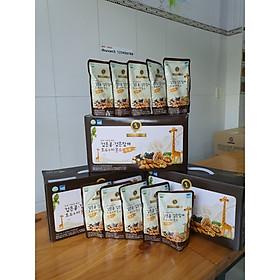 Sữa óc chó hạnh nhân đậu đen Hàn Quốc - Thùng 20 gói 195ml/gói Golden Health