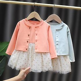 VN58Size70-100 (4-16kg)Đầm cho bé gái 1 tuổi đến 3 tuổiThời trang trẻ Em hàng quảng châu