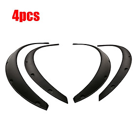 4PCS Carbon fiber Universal Car Wheel Fender widening Wheels Interior fender  for Benz BMW VW Ford  USW All cars