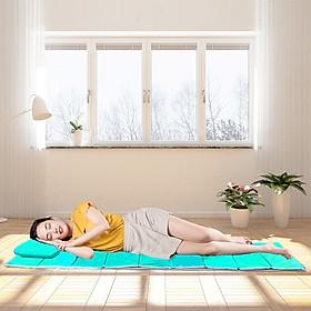 Đệm Gấp Văn Phòng 190x70cm, dày 1.5cm , Đệm Gấp Ngủ Trưa Văn Phòng Siêu Nhỏ Gọn, Chất Liệu Mút , Dễ Dàng Gấp Gọn, tiện dụng, nhỏ gọn dễ mang theo, Foldable Sleeping Office Mattress