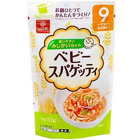 Mì Spaghety tách muối Hakubaku Nhật 9M+ (100g)