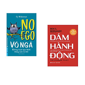 Combo 2 cuốn sách: VÔ NGÃ - không vượt qua mình đừng làm gì hết + Dám hành động