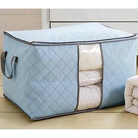 Túi đựng chăn màn dáng ngang , đựng quần áo, đồ tiện dụng GD181-TCM-Ngang ( giao ngẫu nhiên)