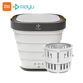 Xiaomi Youpin Moyu Wash Machine XPB08-F2 2 in 1 Portable Foldable Mini Washer Clothes Washing for Home Travel One Button