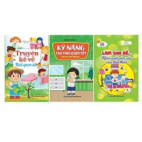 Combo Sách kỹ năng sống cho bé - Tự kiểm soát hành vi (Bộ 3 cuốn)