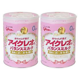 Combo 2 Sữa Công Thức Glico Icreo Balance Milk Số 0 (800g)-0