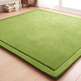 80X200CM Coral Fleece Carpet Kids Game Mat Play Crawling Gym Blanket Floor Rug Decoration