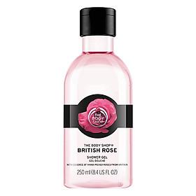 Gel Tắm The Body Shop British Rose (250ml)