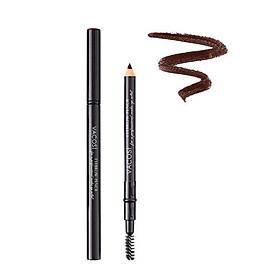 Chì mày chuốt 2 đầu Vacosi Eyebrow Pencil #82 Gray Brown