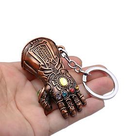 Móc Chìa Khóa Hình Găng Tay Thanos Bằng Kim Loại