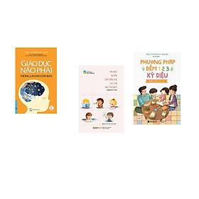 Combo 3 cuốn sách: Giáo Dục Não Phải - Tương Lai Cho Con Bạn + Mẹ Nhật Truyền Cảm Hứng Học Cho Con Như Thế Nào  + Phương Pháp Đếm 123 Cho Cha Mẹ