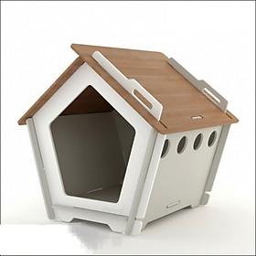 Nhà Gỗ Lắp Ráp Cho Chó Mèo DH009