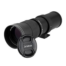 Ống Kính Zoom Andoer Cho Máy Chụp Hình Canon Nikon Minolta Sony Pentax Olympus DSLR (420-800mm F/8.3-16 HD)