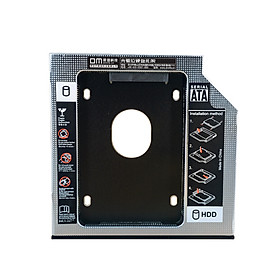 Damai (DM) notebook optical drive bit hard drive bay SATA hard drive bracket box for SSD solid state hard drive DW127S universal section thickness 12.7mm