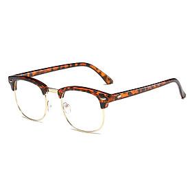 Anti Blue-ray Glasses Universal Blue Light Blocking Glasses Fatigue Proof Lightweight Eye Protection Glasses Orange+Gold
