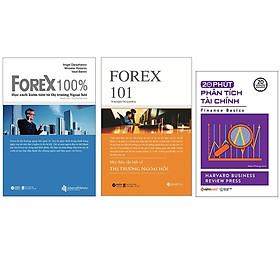 Combo Sách : Forex 100% – Học Cách Kiếm Tiền Trên Thị Trường Ngoại Hối + Forex 101 - Mọi Điều Cần Biết Về Thị Trường Ngoại Hối + 20 Phút Phân Tích Tài Chính