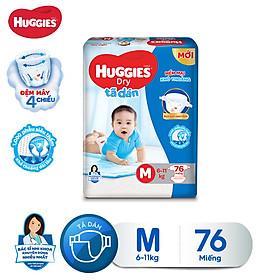 Biểu đồ lịch sử biến động giá bán Tã dán Huggies Diapers Super Jumbo M76