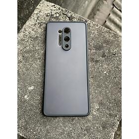 Ốp lưng nhám mờ cho Oneplus 7 Pro, 8 , 8 Pro , 8T chống sốc, bảo vệ Camera (đen)