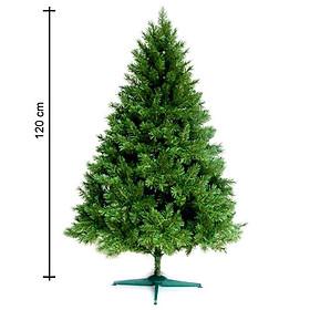 Cây thông noel màu xanh đầu tròn 2in (Cây 120cm)