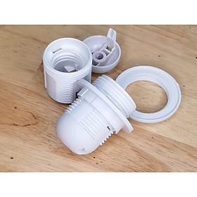 Combo 5 cái đui đèn E27 nhựa cứng dẻo, dùng cho đèn bàn