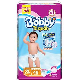 Tã Quần Bobby Siêu Thoáng XL48 (48 Miếng)