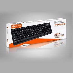 Bàn phím máy tính có dây Meetion K202 - Hàng Chính Hãng