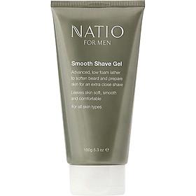 Gel Cạo Râu Natio For Men Smooth Shave Gel 150g