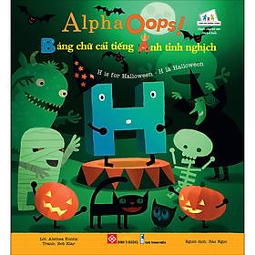 Hình ảnh AlphaOops! Bảng Chữ Cái Tiếng Anh Tinh Nghịch - H Is For Halloween - H Là Halloween