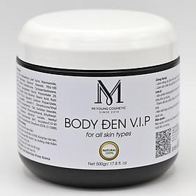 Kem Dưỡng Trắng Da Ban Đêm Cấp Ẩm Mi Young Body Đen V.I.P - 500gr