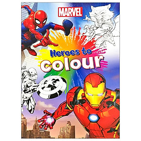 Marvel Mixed: Heroes To Colour