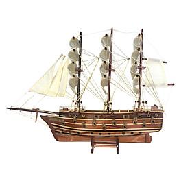 Mô hình thuyền gỗ trang trí Napoleon - thân 40cm - loại 2