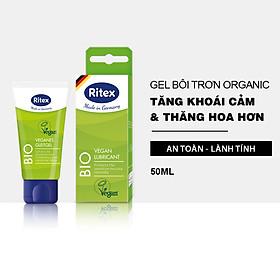 Gel bôi trơn Ritex BIO - ORGANIC  (TUÝP 50ML) JN-RITEX-BIO