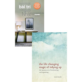 Combo The Life-changing Magic Of Tidying Up: The Japanese Art Of Decluttering And Organizing Hrd - Nghệ Thuật Bài Trí Của Người Nhật